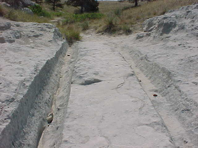Wagon Ruts in Wyoming