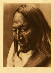 Two Strike, Brule by Edward Curtis, 1907